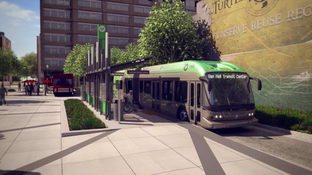CTRAN To Break Ground On First Rapid Transit Bus News OPB