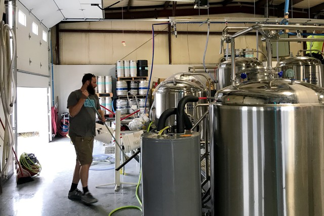 Bolo Beer Company head brewer Chris Hernstrom traded the hopped Northwest for the relatively quiet Great Plains, looking for a new challenge.