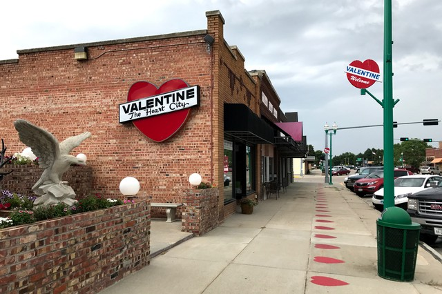 Valentine, Neb., population 2,700, is the largest town of its size for at least a two-hour drive in any direction.