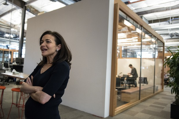 Facebook's chief operating officer Sheryl Sandberg — interviewed at the company's offices in Menlo Park Calif. on Thursday — told NPR
