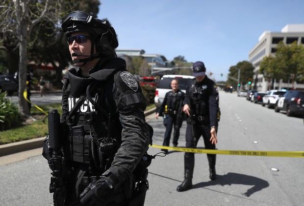 Active shooter at YouTube HQ in San Bruno