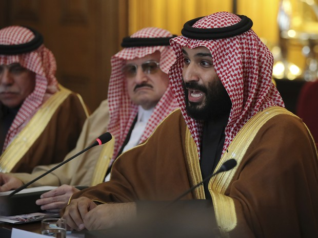Saudi crown prince heads to talks with Trump in Washington