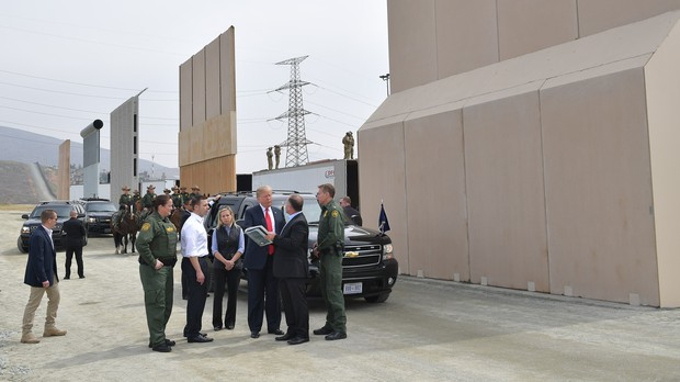 City said it's a fence, not a border wall