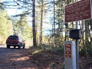 Fee boxes in the Little North Santiam Canyon were broken into multiple times during the summer of 2017.