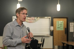 Portland Mayor-elect Ted Wheeler plans to hit the ground running when he takes office on Jan 1, 2017.