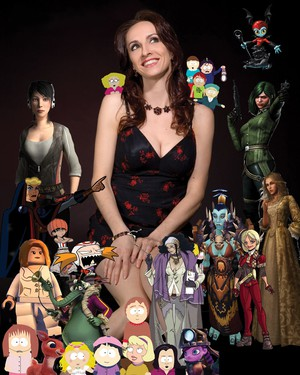 "In addition to voicing most of the female characters on ""South Park,"" Eliza Jane Schneider has created characters for everything from the animated film ""Finding Nemo"" to the TV series ""King of the Hill"" to video games like ""Assassin's Creed."""