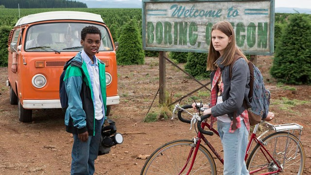 """Actors Jahi Winston and Peyton Kennedy star in Netflix's new filmed-in-Oregon series, """"Everything Sucks."""""""