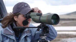 Kait White of Grants Pass saw 43 different species of birds in one day at the Klamath National Wildlife Refuge Complex.