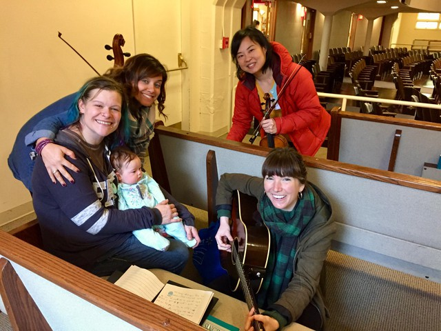 The Lullaby Project paired local songwriters with homeless mothers to write and record lullabies for their children.