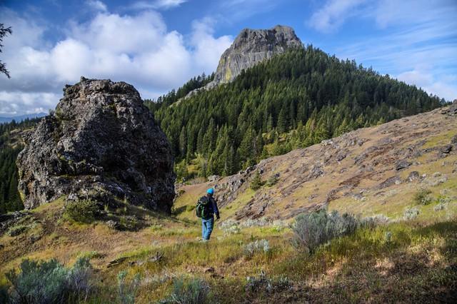 The Cascade-Siskiyou National Monument in Oregon.