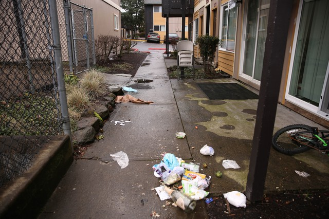 Crispin hoped the new owners of the Titan Apartment Complex would improve maintenance. Instead, they began evicting the residents.