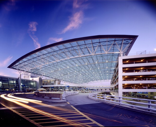 For the past three decades, ZGF has designed most of the major expansions and remodels at the Portland International Airport (PDX), including doubling the size of the terminal, the glass canopy covering the entrance, new parking structures and storefront remodels.