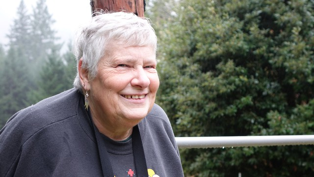 Cilde Grover is concerned how new rules to protect streams will affect her Brookings, Oregon tree farm.
