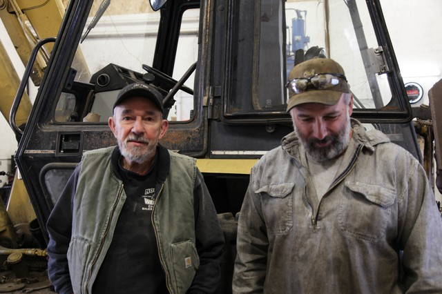 Clarence (left) and Krag (right) Norton