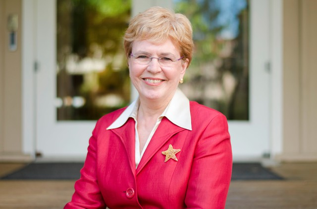 Jane Lubchenco, former administrator for the National Oceanic and Atmospheric Administration and a professor at Oregon State University