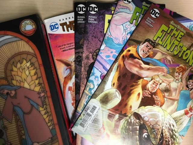 DC's Flintstones comic books.