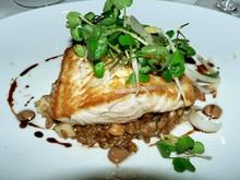 Pan roasted Ivory King Salmon (credit: starleigh)
