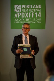 """Portland Mayor Charlie Hales was on hand at the Portland Film Festival's event announcing the 2014 festival schedule. Last year, Mayor Hales proclaimed Portland the """"City of Film."""""""
