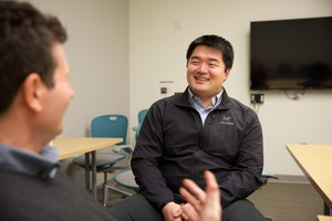 Fourth-year Oregon Health and Science University medical student Xiao-Yue Han is learning how to prescribe opioids in a way that doesn't lead to addiction.