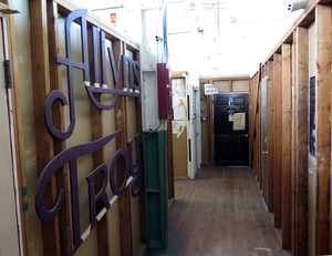 The artists of the Troy Laundry co-op have built their own labyrinth of studios in the 1911 historic building.