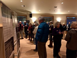 More than 100 people attended a public meeting in Cle Elum to voice their opinions about reintroducing grizzly bears to the North Cascades.