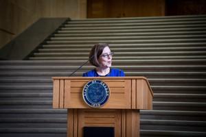 Oregon Gov. Kate Brown in 2015