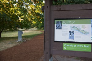 Pre's Trail, named for Oregon track royalty Steve Prefontaine, is equally regal. The 4-mile loop is dynamic, peaceful and easy on the joints.