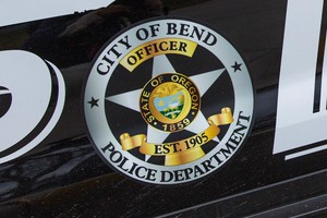 A Bend Police cruiser in Bend, Oregon, Friday, March 17, 2017.