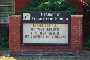 Humboldt Elementary School closed as a neighborhood public school in 2012.