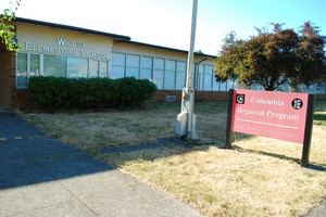 Wilcox Elementary School is now used for administrative purposes. Columbia Regional Program is housed within the building.