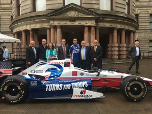 The Portland International Raceway will host an IndyCar series race starting in 2018.
