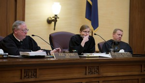 Judges on the Oregon Court of Appeals heard the case of Gresham bakers who refused to make a wedding cake for two women.