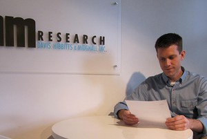 John Horvick of DHM Research
