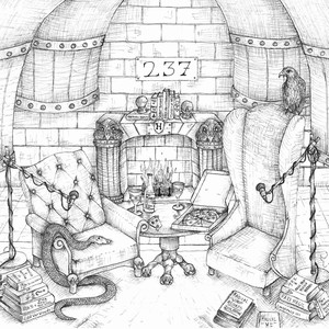 """""""Room of Requirement 237"""", in keeping with its namesake, is the kind of podcast that can be anything (adult) fans need it to be — a safe space for exploring even the most off-the-wall speculation."""
