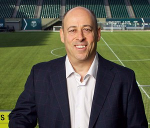 Portland Timbers President of Business Mike Golub has also served on the board of the Oregon Cultural Trust.