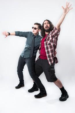 Jay Edidin (left) and Miles Stokes (right).