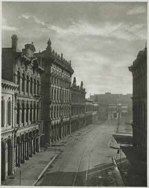Minor White, Front Avenue, Portland, Spring 1939, gelatin silver print