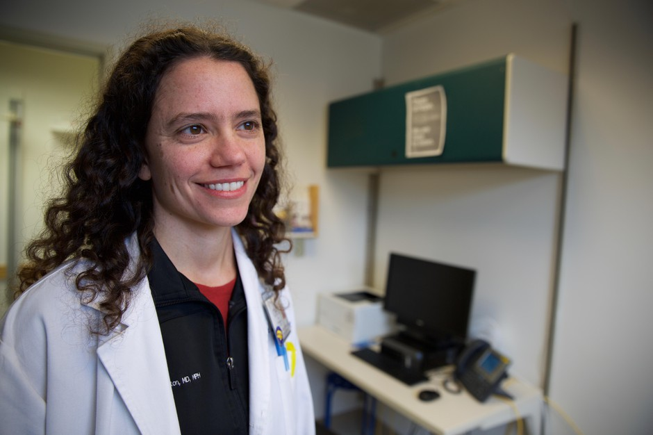 Dr. Cat Livingston is a family physician at Oregon Health and Science University's Richmond Clinic in Portland. She said patients with chronic long-term pain are being taught how to manage their pain with therapies other than opioids.